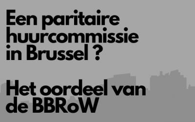 Paritaire huurcommissie in Brussel